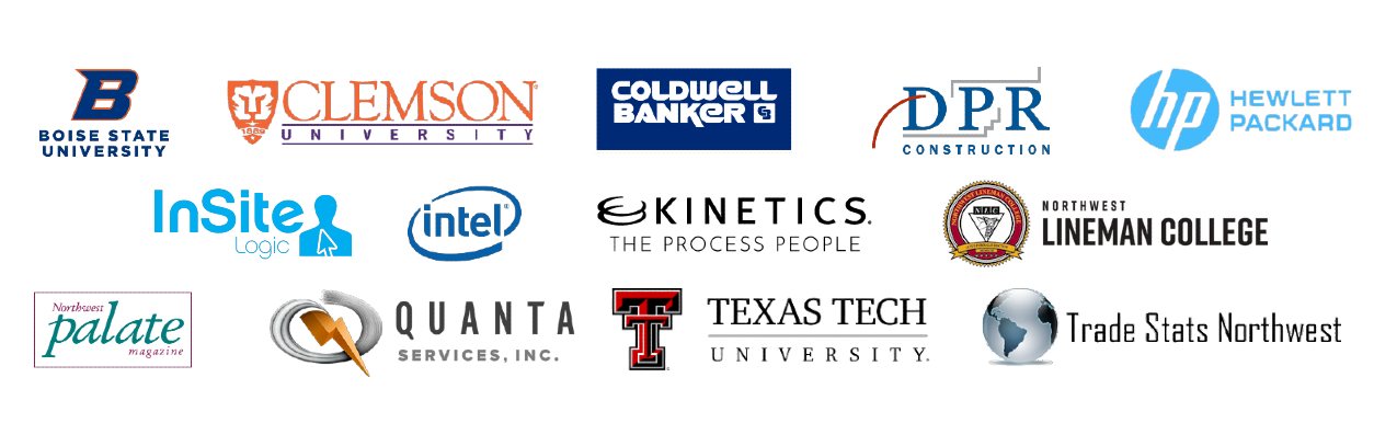 Companies we have worked for and with